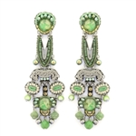 Ayala Bar Green Moonlight Earrings C1532 Spring 2021