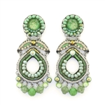 Ayala Bar Green Moonlight Earrings C1533 Spring 2021
