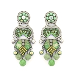 Ayala Bar Green Moonlight Earrings C1534 Spring 2021