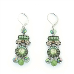 Ayala Bar Green Moonlight Earrings C1535 Spring 2021