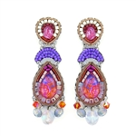 Ayala Bar Deep Fuchsia Earrings C1543 Spring 2021