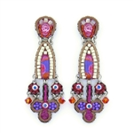 Ayala Bar Deep Fuchsia Earrings C1544 Spring 2021