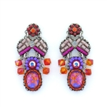 Ayala Bar Deep Fuchsia Earrings C1545 Spring 2021