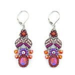 Ayala Bar Deep Fuchsia Earrings C1545H Spring 2021