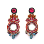 AYALA BAR CRIMSON VOYAGE EARRINGS 11H1002 FALL 2018
