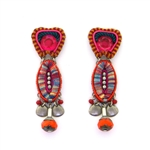 AYALA BAR CRIMSON VOYAGE EARRINGS 11H1004 FALL 2018