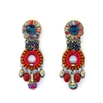 AYALA BAR CRIMSON VOYAGE EARRINGS 11H1005 FALL 2018