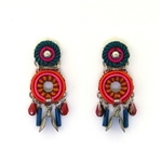 AYALA BAR CRIMSON VOYAGE EARRINGS 11H1007 FALL 2018