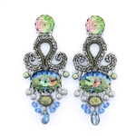 Ayala Bar Fiesta Green Earrings H1346 Spring 2020