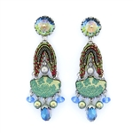 Ayala Bar Fiesta Green Earrings H1348 Spring 2020