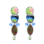 Ayala Bar Fiesta Green Earrings H1350 Spring 2020
