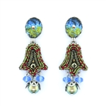Ayala Bar Fiesta Green Earrings H1351 Spring 2020