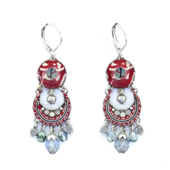 Ayala Bar Red Rock Earrings 11H1456 Wire Fall 2020