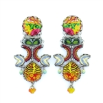 Ayala Bar Floral Bucket Earrings R1574 Spring 2021