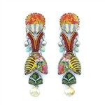 Ayala Bar Floral Bucket Earrings R1575 Spring 2021