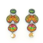 Ayala Bar Floral Bucket Earrings R1577 Spring 2021