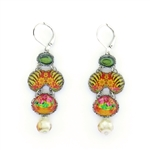 Ayala Bar Floral Bucket Earrings R1577H Spring 2021