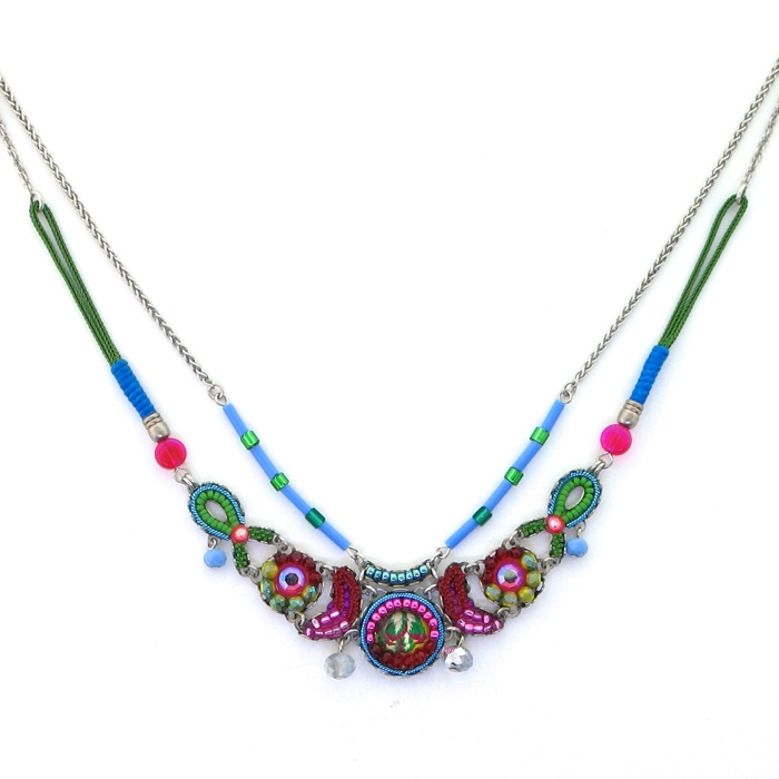 tagpe necklace pendant spring peacock enchanted asp silver p collection trollbeads