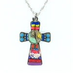 Ayala Bar Cross Small Turquoise Multi 135226T