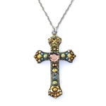Ayala Bar Cross Necklace 135273 G Spring 2018