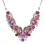 Ayala Bar Deep Fuchsia Necklace C3255 Spring 2021