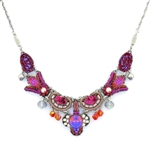 Ayala Bar Deep Fuchsia Necklace C3256 Spring 2021