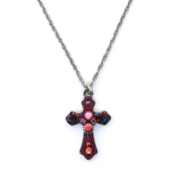 AYALA BAR SMALL CROSS NECKLACE 13C5010 FALL 2018