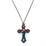 AYALA BAR SMALL CROSS NECKLACE 13C5011 FALL 2018
