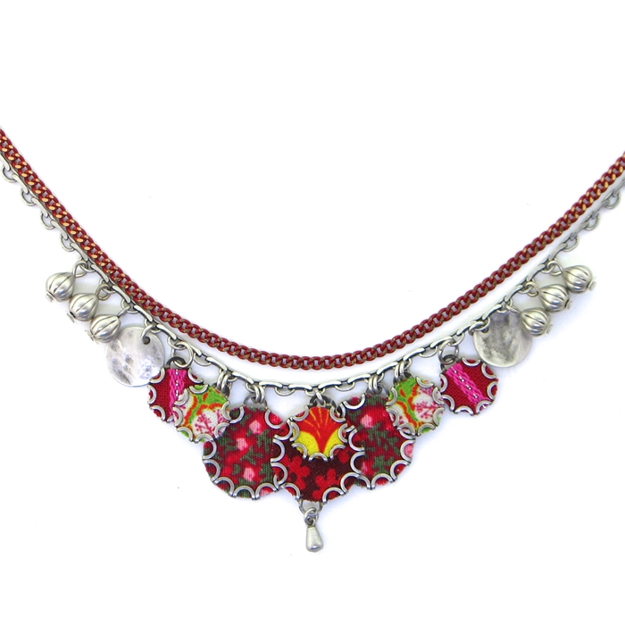 pomegranate ab israeli bar ayala spring necklace designer jewelry summer