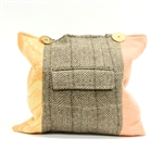 Baabaazuzu Tote Peach Tan & Brown