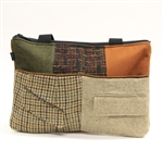 Baabaazuzu Zippered Tote Fall Colors
