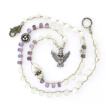 Beautiful Soul Queen of Birds Amethyst Long Necklace