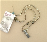 Beautiful Soul Baby Mermaid Necklace with Clear Quartz