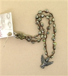 Beautiful Soul Bird Angel with Pyrite Necklace