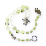 Beautiful Soul Sea Turtle Necklace with Prehnite and Moonstone