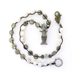 Beautiful Soul Mermaid Sea Goddess with Baroque Pearl & Pyrite