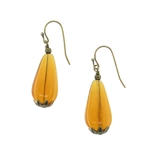 Christina Anastasia Bits of Bliss Honey Teardrop Earrings