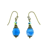 Christina Anastasia Bits of Bliss Capri Blue Earrings