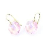 Christina Anastasia Pink Moons Swarovski Crystal Earrings