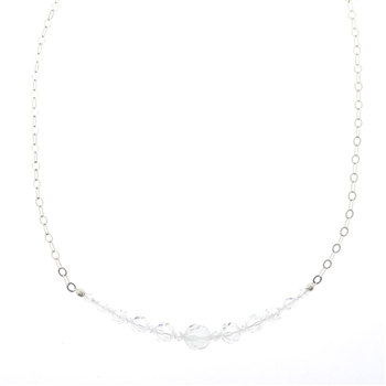 Christina Anastasia Swarovski Crystal Necklace