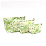 Dana Herbert Lime Cosmetic Bag Set