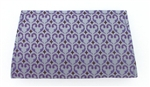 Forgotten Shanghai Purple Fleur De Lys Mini Clutch