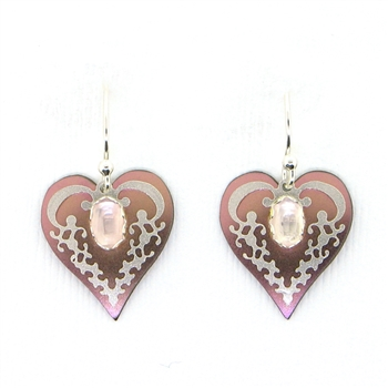 Holly Yashi Penelope Earrings - Pink/Rose Quartz