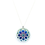 Holly Yashi Morning Light Necklace - Silver/Turquoise