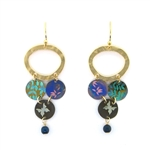 Holly Yashi Daydream Earrings - Multi/Gold