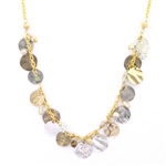 Holly Yashi Enchantress Necklace - Gold/Silver