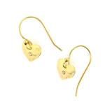 Holly Yashi Be Mine Earrings - Gold
