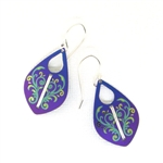 Holly Yashi Cadence Earrings - Purple