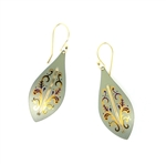 Holly Yashi Capella Earrings - Sage