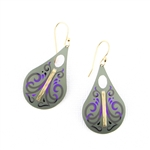 Holly Yashi Tempo Earrings - Sage